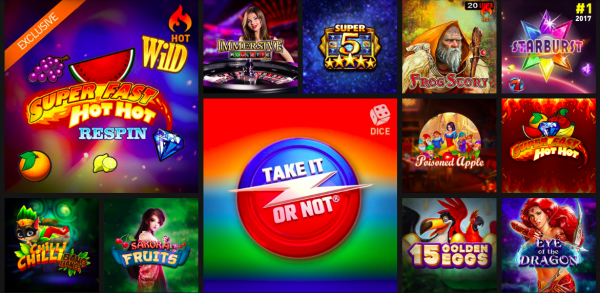 Casino777.be casino games