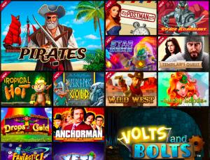 Goldenpalace casino games